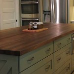 Walnut Butcher Block Island Top