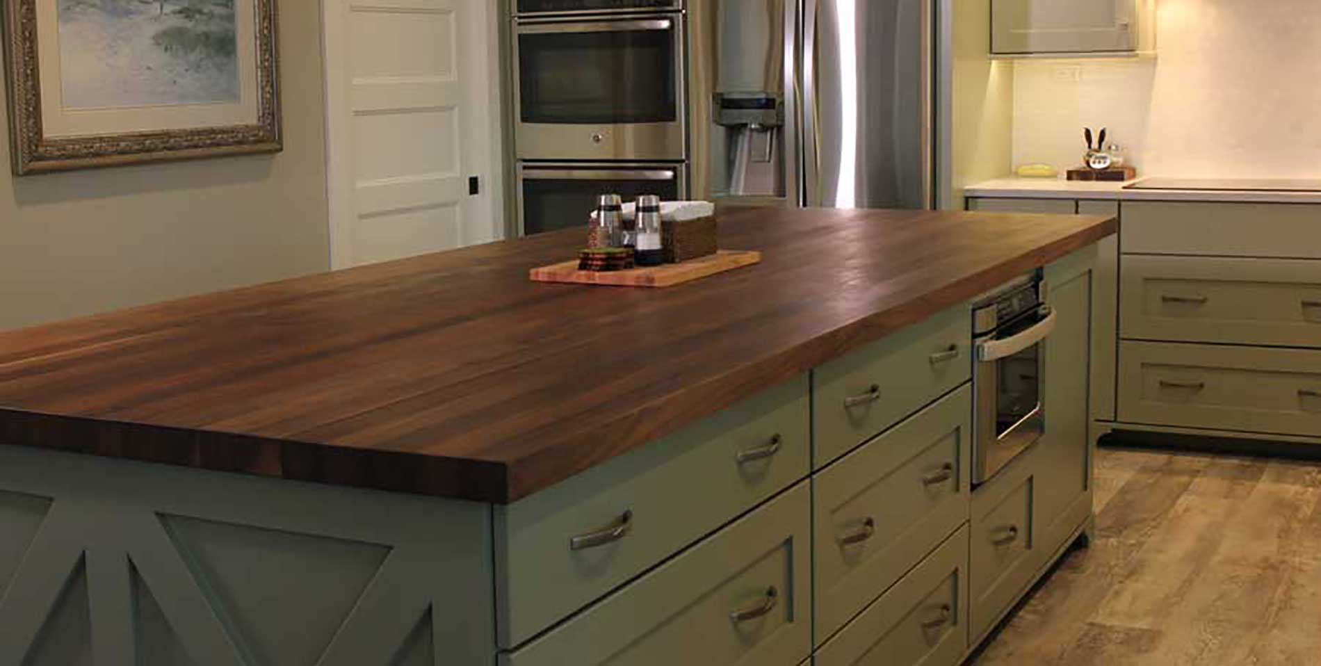 Charmant Black Walnut Kitchen Island   McClure Block Butcher Block And Hardwood  KItchen Counter Tops And Hardwood Kitchen Islands, Butcher Block Chopping  Blocks And ...