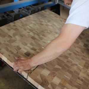 ClampRackGlueDomino-300x300 Clamp-Rack-Glue-Butcher-Block-End-Grain-Hickory