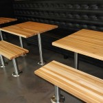 Hickory Restaurant Butcher Block Table Tops