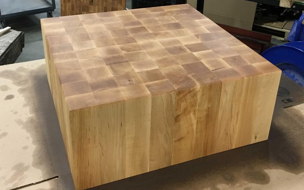 Blog.mcclureblock_blockmaple 1024x640 KBIS 2016: McCLure Block At Las Vegas  Kitchen Bath Industry