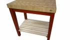 blog.mcclureblock_mapleendredcartshelf-1400x933-140x80 Butcher Block Chopping Block End Grain Carts