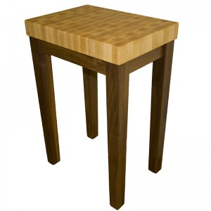 blog.mcclureblock_mapleendwalnuttable-300x300 Island-Kitchen-Cart-with-Maple-Top