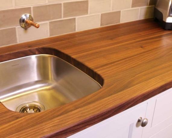 Walnut Kitchen Counter Top